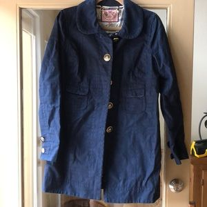 Navy Juicy Pea Coat with Nautical buttons